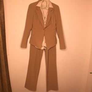 Women's pant suit with blouse
